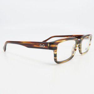 DG 1176 1572 Dolce & Gabbana Brown Stripe Glasses